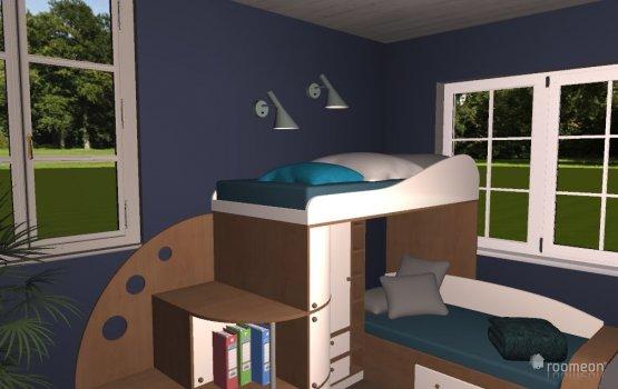 Raumgestaltung Kinderzimmer (Sarah) in der Kategorie Kinderzimmer