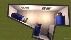 Raumgestaltung Kinderzimmer Untergeschoss in der Kategorie Kinderzimmer