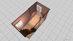 Raumgestaltung Kinderzimmer Variante vor dem Umbau in der Kategorie Kinderzimmer