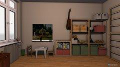 Raumgestaltung Kinderzimmer voll eingerichtet in der Kategorie Kinderzimmer