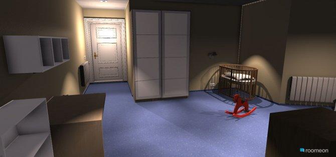 Raumgestaltung Kinderzimmer0-2 in der Kategorie Kinderzimmer
