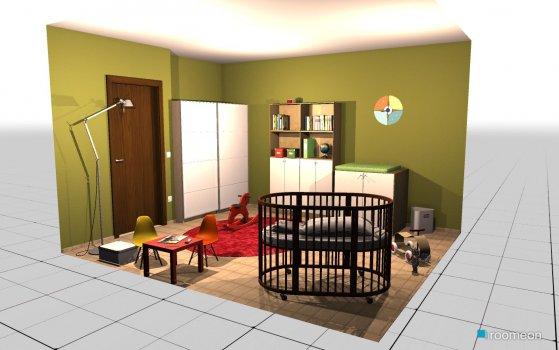 Raumgestaltung Kinderzimmer in der Kategorie Kinderzimmer