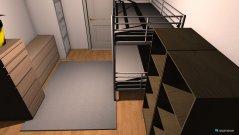 Raumgestaltung kizimmer sitzbank in der Kategorie Kinderzimmer