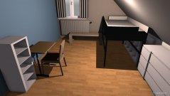 Raumgestaltung Kjell2 in der Kategorie Kinderzimmer