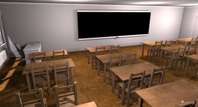 Raumgestaltung Klassensall in der Kategorie Kinderzimmer