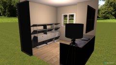 Raumgestaltung kleines Zimmer in der Kategorie Kinderzimmer