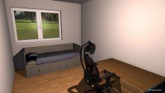 Raumgestaltung KZ 16m² in der Kategorie Kinderzimmer
