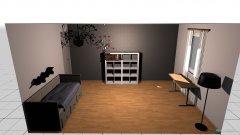 Raumgestaltung Leas Zimmer in der Kategorie Kinderzimmer