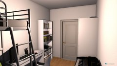 Raumgestaltung Lee-Roxs richtiges neues Zimmer in der Kategorie Kinderzimmer