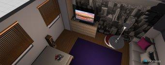 Raumgestaltung Lena's Zimmer in der Kategorie Kinderzimmer