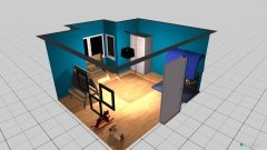 Raumgestaltung Liams Zimmer in der Kategorie Kinderzimmer