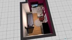 Raumgestaltung Lina Zimmer in der Kategorie Kinderzimmer