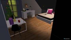 Raumgestaltung Lisa's Zimmer in der Kategorie Kinderzimmer