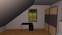 Raumgestaltung lisas zimmer 3 in der Kategorie Kinderzimmer
