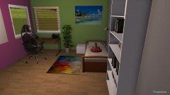 Raumgestaltung Louisa Zimmer in der Kategorie Kinderzimmer