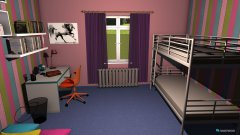 Raumgestaltung Luana in der Kategorie Kinderzimmer