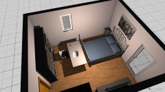 Raumgestaltung Luisa´s Zimmer im Schlafzimmer in der Kategorie Kinderzimmer