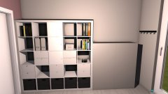 Raumgestaltung Lunas Zimmer Fertig in der Kategorie Kinderzimmer