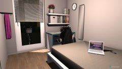 Raumgestaltung Lunas Zimmer in der Kategorie Kinderzimmer
