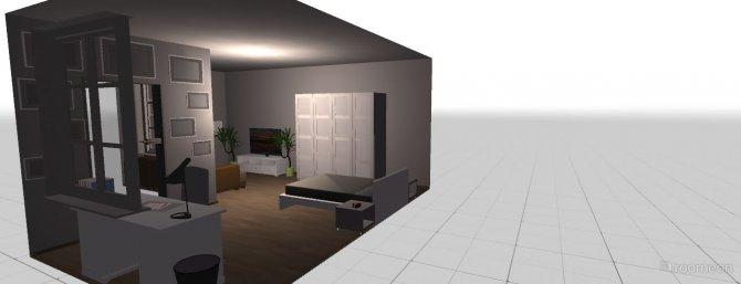 Raumgestaltung Mädchenschlafzimmer in der Kategorie Kinderzimmer