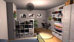 Raumgestaltung Mädchenzimmer in der Kategorie Kinderzimmer
