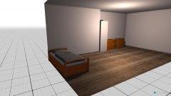 Raumgestaltung Majas Zimmer in der Kategorie Kinderzimmer