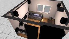 Raumgestaltung Mein Zimmer mit Beamer  in der Kategorie Kinderzimmer