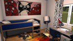 Raumgestaltung MFH-Kinderzimmer in der Kategorie Kinderzimmer