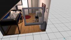 Raumgestaltung MIA Zimmer in der Kategorie Kinderzimmer