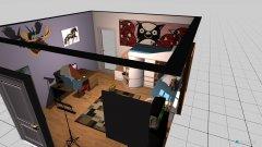 Raumgestaltung Morgz Kinderzimmer in der Kategorie Kinderzimmer