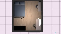 Raumgestaltung Naja's Zimmer in der Kategorie Kinderzimmer
