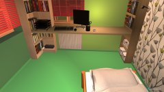 Raumgestaltung Neues Kinderzimmer Variante 2 in der Kategorie Kinderzimmer