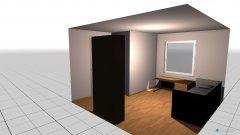 Raumgestaltung Nicoles Zimmer simuliert in der Kategorie Kinderzimmer