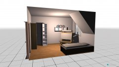 Raumgestaltung Nik Zimmer in der Kategorie Kinderzimmer