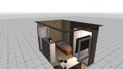 Raumgestaltung Noah Schlafzimmer in der Kategorie Kinderzimmer