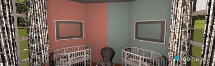 Raumgestaltung Nursery in der Kategorie Kinderzimmer