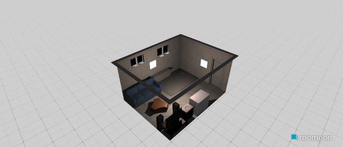 Raumgestaltung Partyraum in der Kategorie Kinderzimmer