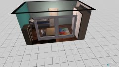 Raumgestaltung Paulines Zimmer in der Kategorie Kinderzimmer