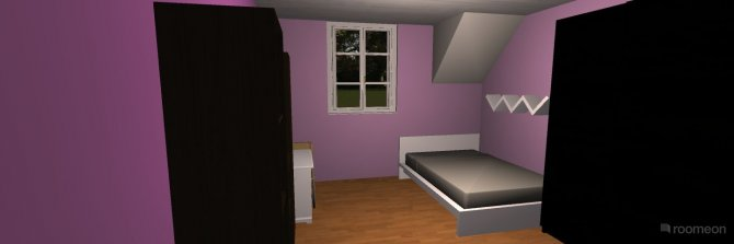 Raumgestaltung Purple in der Kategorie Kinderzimmer