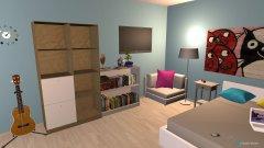 Raumgestaltung Quadrat Projektarbeit in der Kategorie Kinderzimmer