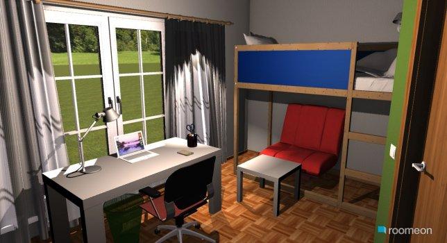 Raumgestaltung Rebecca6 in der Kategorie Kinderzimmer