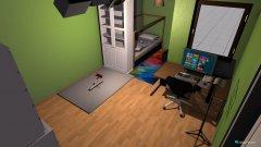 Raumgestaltung Reich des kindes in der Kategorie Kinderzimmer