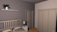 Raumgestaltung richtiges Zimmer in der Kategorie Kinderzimmer