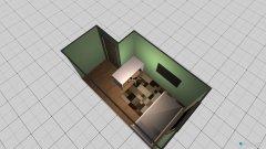 Raumgestaltung Robins neues Zimmer in der Kategorie Kinderzimmer