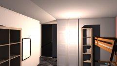 Raumgestaltung Salome und Bad V2 in der Kategorie Kinderzimmer
