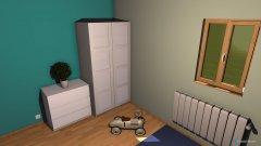 Raumgestaltung Sam Zimmer in der Kategorie Kinderzimmer
