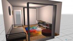 Raumgestaltung Sarahs Zimmer in der Kategorie Kinderzimmer