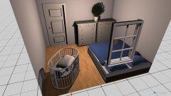 Raumgestaltung Schlafzimmer EG in der Kategorie Kinderzimmer
