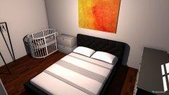 Raumgestaltung Schlafzimmer mit Baby in der Kategorie Kinderzimmer