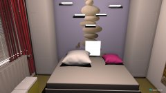 Raumgestaltung Sophia Zimmer Vorschlag in der Kategorie Kinderzimmer